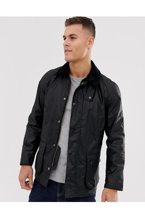 Barbour Ashby wax jacket in black