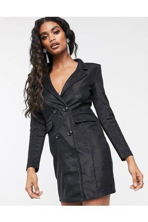 Ivyrevel Blazer mini dress in black