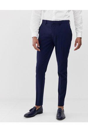 ASOS Super skinny suit trousers in navy