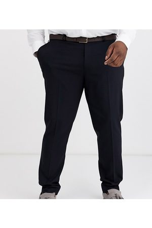 ASOS Plus skinny suit trousers in navy