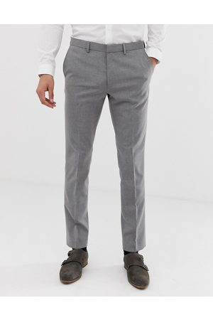 Burton Skinny suit trousers in light grey