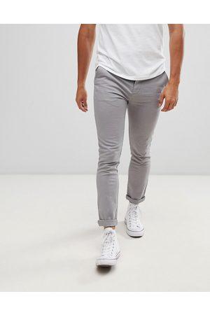 ASOS Skinny chinos in light grey