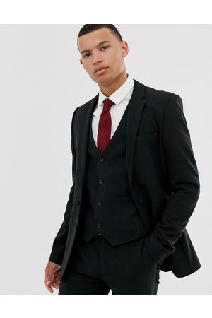 ASOS Super skinny suit jacket in black
