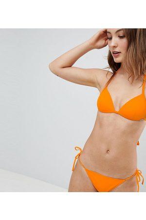 Free Society Stripe Tie Side Hipster Bikini Bottom