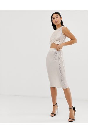 Club L Club L sparkle bodycon skirt co