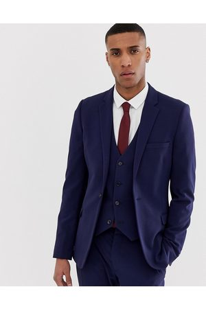 ASOS Super skinny suit jacket in navy
