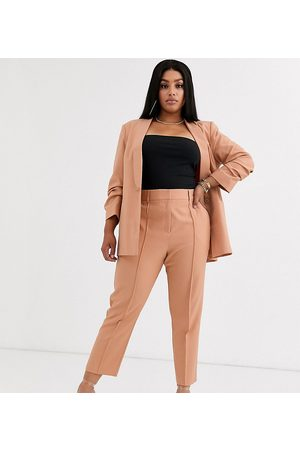 ASOS ASOS DESIGN curve mix & match ultimate ankle grazer suit trousers
