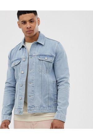 ASOS Regular denim jacket in light wash