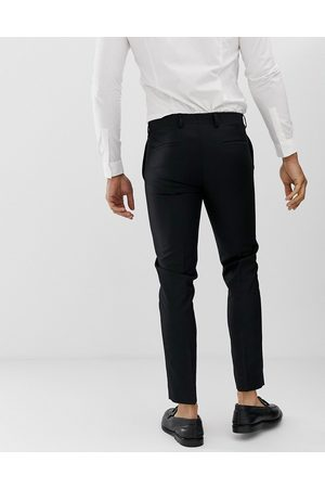 River Island Wedding skinny suit trousers in black