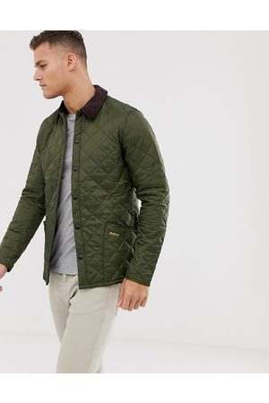 Barbour Heritage Liddesdale quilted jacket in olive