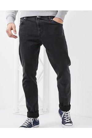 Weekday Sunday relaxed tapered comfort fit jeans in black
