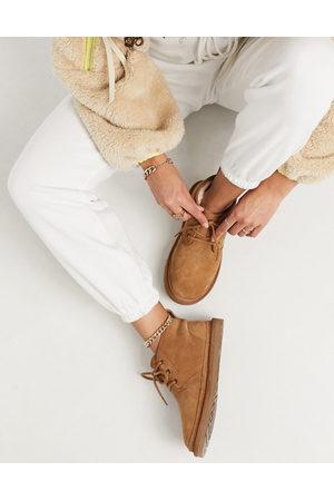 UGG Neumel Chestnut Lace Up Ankle Boots