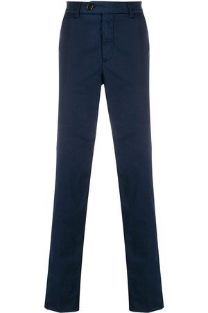 Brunello Cucinelli Pantalones tipo chino slim con tiro medio