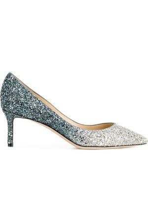 Jimmy Choo Mujer Stiletto - Zapatos de tacón Romy 60 de purpurina
