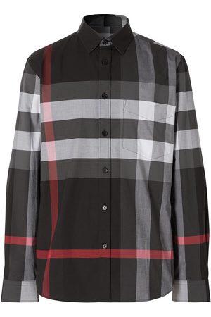 Burberry Camisa a cuadros