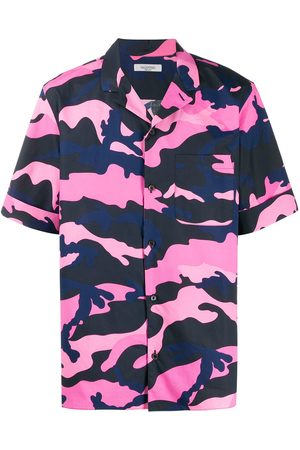 VALENTINO Camouflage print shortsleeved shirt