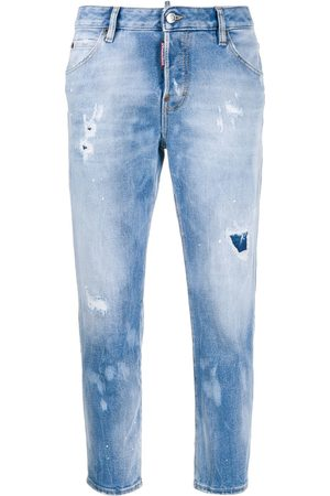 Dsquared2 Mujer Rectos - Holes Hockney straight jeans