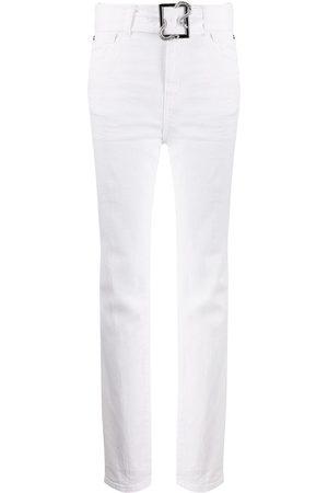 Roberto Cavalli Pantalones con cinturón