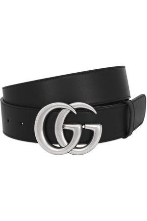 """Gucci Cinturón """"gg"""" De Piel 40mm"""