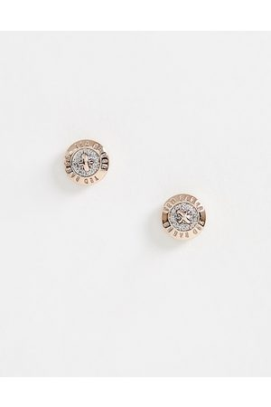 Ted Baker Glitter Mini Button Earrings