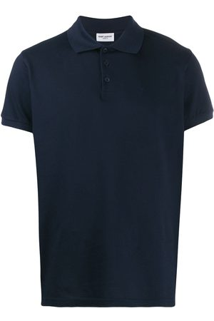 Saint Laurent Playera tipo polo lisa