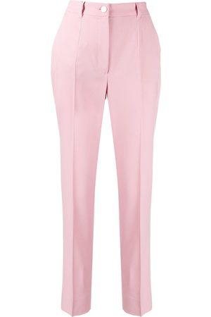 Dolce & Gabbana Pantalones con ribete en contraste