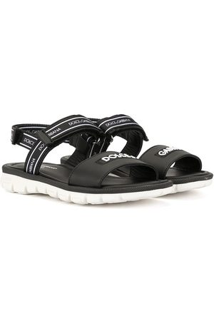 Dolce & Gabbana Sporty-style touch strap sandals