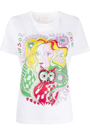 La DoubleJ Camiseta Goddess Athena Placed estampada