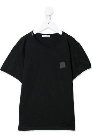 Dolce & Gabbana Letter stamp-style logo T-shirt