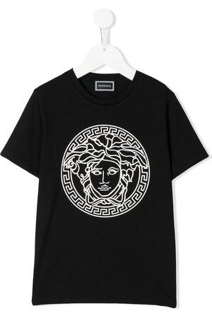 VERSACE TEEN Medusa logo printed T-shirt
