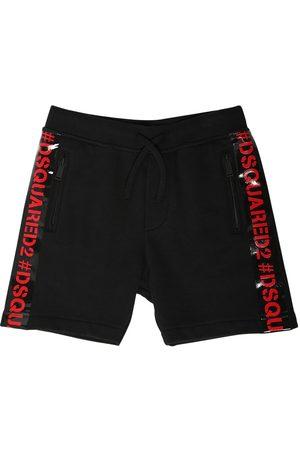 Dsquared2 Shorts Deportivos Con Bandas De Logo