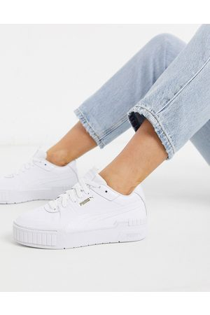Puma Cali Sport chunky trainers in white