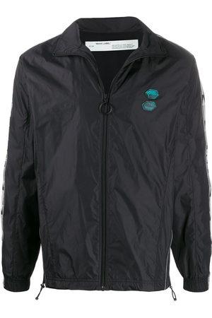 OFF-WHITE Logo patch lightweight jacket