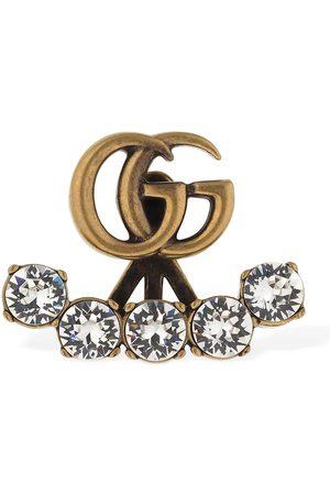 """Gucci Pendiente Individual """"gg Marmont"""" De Cristales"""
