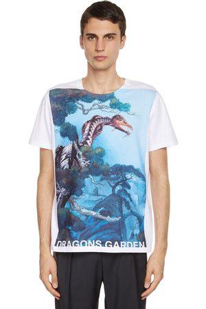 VALENTINO Camiseta De Algodón Con Estampado