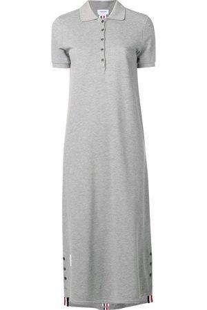 Thom Browne Vestido largo estilo polo
