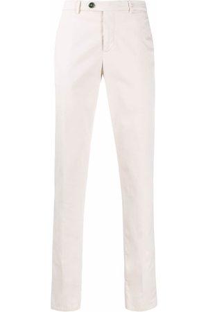 Brunello Cucinelli Pantalones tipo chino de corte slim