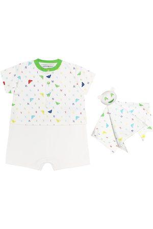 Emporio Armani Baby onesie and comforter set