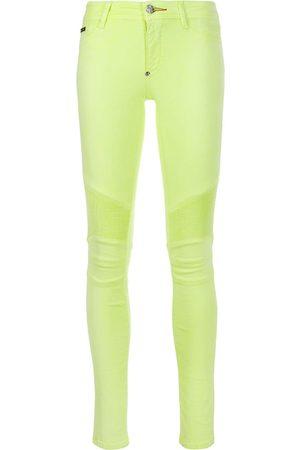 Tubo Amarilla Pantalones Y Jeans De Mujer Poliester Fashiola Mx