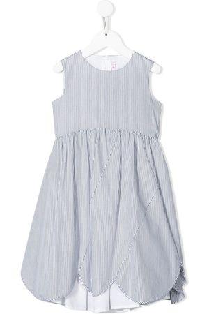 Il gufo Stripe print dress