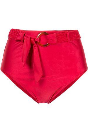 Duskii Calzones de bikini con tiro alto