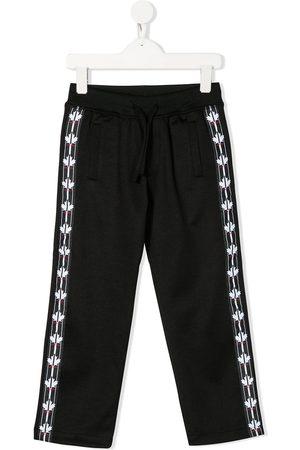 Dsquared2 Pantalones de chándal con banda del logo