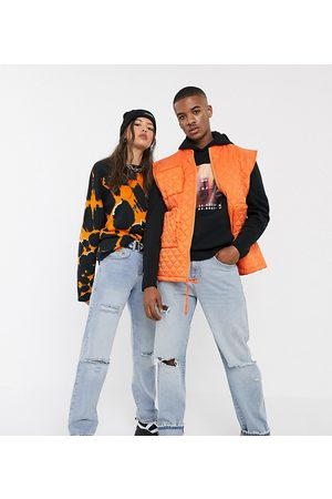 Collusion X000 Unisex 90's fit straight leg jeans with rips