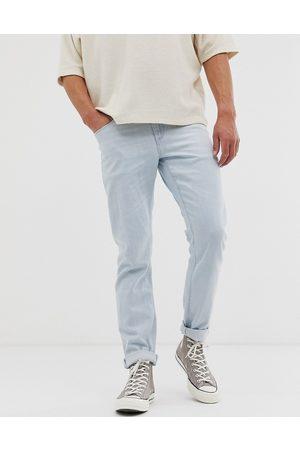 ASOS Stretch slim jeans in flat light wash blue