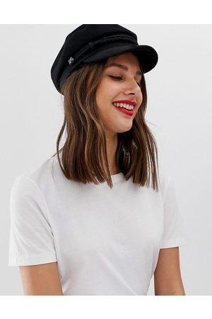 ASOS High crown wool baker boy hat