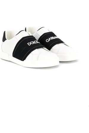 Dolce & Gabbana Slip-on logo band sneakers