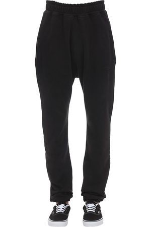 ROUGH Hombre Joggers - Washed Black Sweatpants