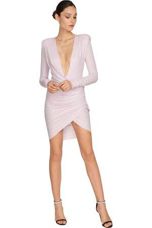 ALEXANDRE VAUTHIER Mujer Cóctel - Embellished Jersey Mini Dress