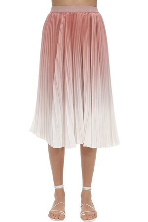 Agnona Mujer Plisadas - Pleated Degradé Skirt