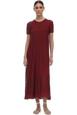Agnona Mujer Vestidos - Viscose & Cotton Knit Dress